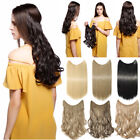 90g Hidden Invisible Secret Hair Extensions Curly Wavy Real As Human Lady Hair