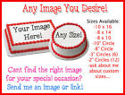 Personalized Custom Cake Topper Photo Cake Edible Printing Frosting Icing Sheet