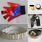 Batman Comic Harley Quinn Costume Cosplay Accessories Belt Fancy Clothes LOT