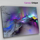 AB1209 blue dark modern Abstract Wall Art Picture Large Canvas Print