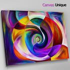 AB1403 Purple Yellow Paint modern Abstract Wall Art Picture Large Canvas Print
