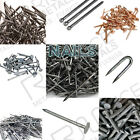 Clout Nails Panel Pins, Round Wire Nails, Copper Nails, Annular Ring Shank Nails
