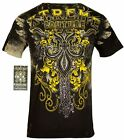 XTREME COUTURE by AFFLICTION Men T-Shirt SALVATION Tattoo Biker MMA UFC S-4X $40 image