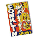 World's Finest Conklin Circus Shows Reproduction 11x17 Poster