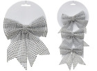 Christmas Decorative Diamante Look Bows for Occasions