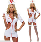 Ladies naughty Nurse Costume Hen outfit role play fancy dress Size M sexy.
