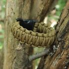 Coyote Brown King Cobra Emergency Survival 550 Paracord Bracelet