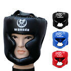 Headgear Head Guard Training Kick Boxing Protector Sparring Gear Face Helmet C1