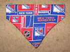 New York Rangers Dog Bandana - 5 sizes XS - XL $4.09 USD on eBay