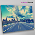 SC160 London Bridge Big Ben Scenic Wall Art Picture Large Canvas Print