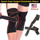 knee brace for running - Sports Knee Support Breathable Sleeve Compression Knee Brace For Running Jogging