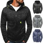 Men's Winter Warm Casual Hooded Sweatshirts Hoodies Coat Jacket Outwear Sweater