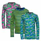 Trespass Oaf Kids Base Layer Long Sleeve Antibacterial Top for Boys and Girls