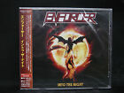 ENFORCER Into The Night + 3 JAPAN CD Alpha Tiger Skull Fist White Wizzard Wolf