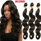 300g Soft 3 Bundles Unprocessed Virgin Human Hair Brazilian Weave Extension A877