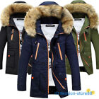 2019 MEN WINTER COAT PADDED JACKET THICK OUTWEAR HOODIES TOPS