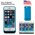 Us 4200mah External Power Bank Charger Battery Case Cover For Apple Iphone5/5s C