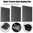 UK 1m/2m Carbon Fiber Hydrographic Water Transfer Film Hydro Dipping Printing