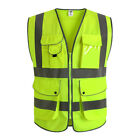 Внешний вид - JKSafety Yellow Breathable Reflective Safety Vest Classic 9 ANSI Class 2