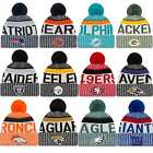 New Era 2017 NFL American Football Sideline On Field Sport Knit Beanie Bobble