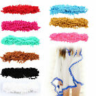 20 Yards 14 Colors Pom Pom Trim Ball Fringe Ribbon DIY Sewing Accessory Lace US $7.44 USD on eBay