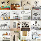 DIY Wall Stickers Mlut-Types Removable Art Vinyl Quote Decal Mural Home Decor za