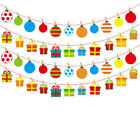 3.5M DIY Paper Bunting Banner Hanging Colorful Flags String Party Ornament Decor