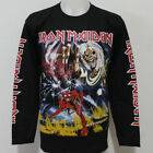 Iron Maiden The Number of The Beast Long Sleeve T Shirt Size S M L XL 2XL 3XL