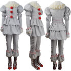 Women Stephen King's It 2017 film evil clown Pennywise cosplay halloween costume