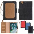 Premium Magnetic Leather Case Card Wallet Cover For Apple iPad Pro 10.5'' 2017