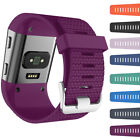 For fitbit surge Large/Small Silicone Replacement Wristband Strap Bracelet+Tool