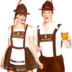 Bavarian Beer Festival Adults Fancy Dress German Oktoferbest Couples Costume New