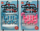 Childrens Drinking Pipe Straws 21 Pieces 5 Shapes Connectors Party Kids Novelty