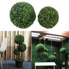 Artificial Grass Ball Topiary Outdoor Indoor Plant Hanging Decoration 6 Sizes