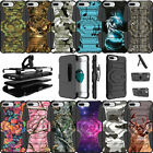 "For Apple iPhone 8 Plus (5.5"") 2017 Clip Stand Dual Layer Case Camos"