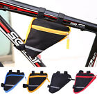 Waterproof Triangle Cycling Bike Bicycle Front Beam Tube Frame Pouch Saddle