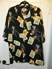 "100% SILK Men's XXL Island Lifestyle shirt by ""JAMACIA JAXX"" in Superior Con"