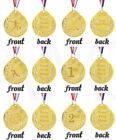 Custom Engraved Gold Coloured Medal Personalised Medal Sports Sporting Troph