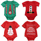 USA Christmas Toddler Baby Girl Boy Romper Bodysuit One-piece Outfits Costume