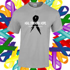 Melanoma Cancer Awareness Shirt Cancer Awareness Ribbon T Shirt