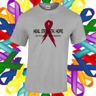 Multiple Myeloma Cancer Awareness Shirt Cancer Awareness Ribbon T Shirt