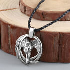 Norse Raven Necklace Box -Odin Viking pendant Crow Runes Eagle Men Necklace Gift