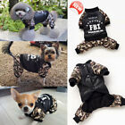 Fashion Pets Clothes Coat Dog Cat Jumper Jacket Warm Camouflage Clothing Apparel