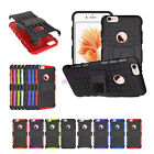 Strong Rugged Armor Heavy Duty Tough Hard TPU Rubber Case Cover Stand for iPhone