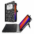 For Verizon Asus ZenPad Z10 / 3S 10 9.7'' Tablet Folio Keyboard Case Cover Stand