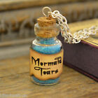 Handmade Mermaid Tears small Potion Bottle Vial Necklace