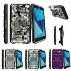 For Samsung Galaxy On7 | J7 Prime | J7 Halo (2017) Stand Clip Case Swamp Camo