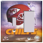 NFL - Kansas City Chiefs - Light Switch Covers Home Decor Outlet