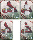 MLB St. Louis Cardinals - Light Switch Covers Home Decor Outlet on Ebay