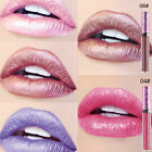 Iridescent Glitter Matte Liquid Lipstick Waterproof Beauty Makeup Lip Gloss POP
